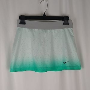 Nike Dri Fit Ombre Perforated Flouncy Tennis Skirt